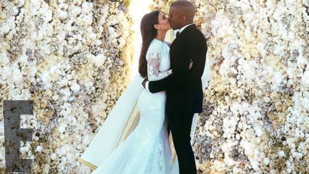 kim and kanye wedding