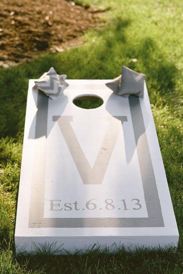 The Event Group, Pittsburgh, wedding gift ideas, personalized cornhole, outdoor gifts