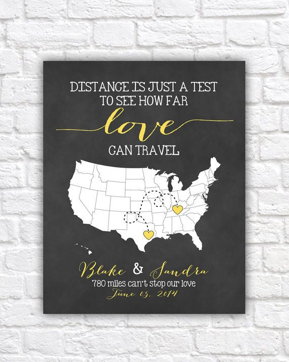 The Event Group, Pittsburgh, wedding gift ideas, personalized map