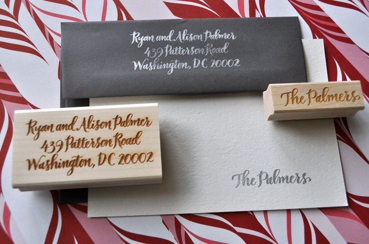 The Event Group, Pittsburgh, wedding gift ideas, personalized stamp