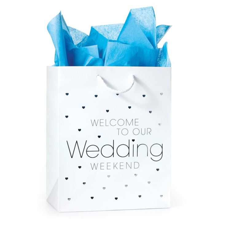 Welcome Bags Baskets Boxes Cards For Wedding Guests