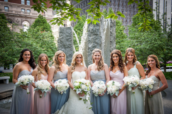 Vintage Wedding Dresses Pittsburgh: Top 2015 Bridesmaids Trends, The Event Group Pittsburgh