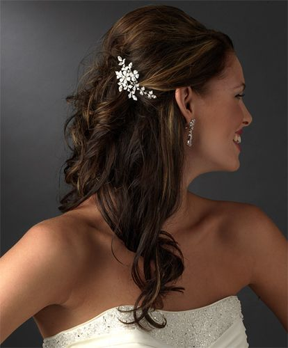 Wedding Hairstyle One Side: Beautiful Hairstyle Ideas For Brides And Bridesmaids