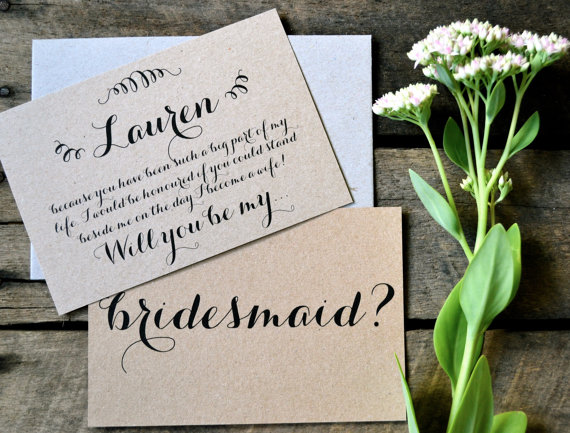 How To Propose To Your Bridesmaids The Event Group Weddings