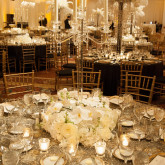 1920's themed party centerpiece| Ritz-Carlton, Naples | The Event Group Weddings