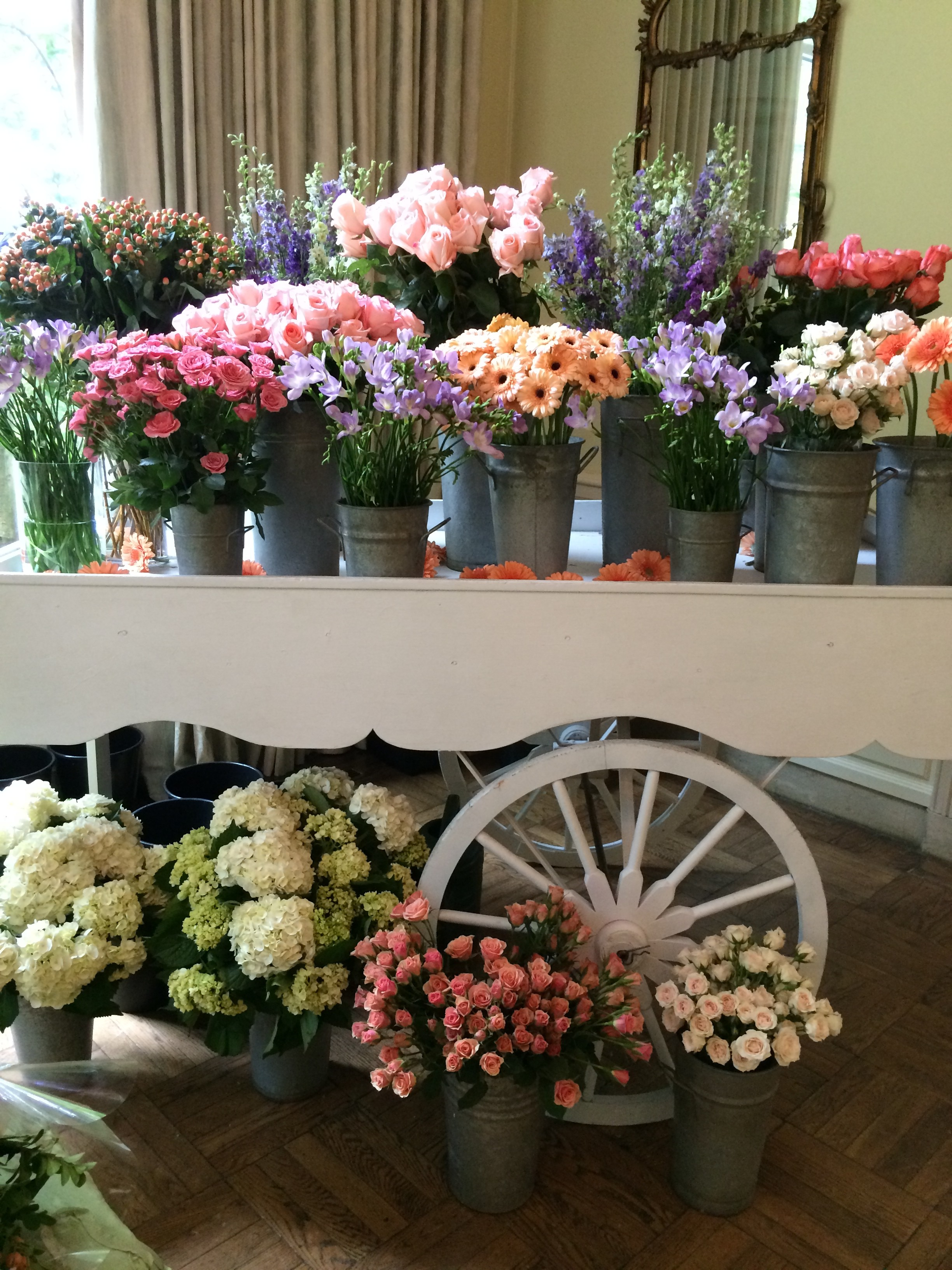 elegant classic garden party bridal shower the event group pittsburgh wedding and event planner