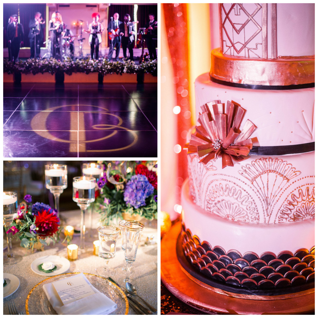 Art Deco Inspired Wedding 2015
