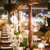 Ski Chalet Inspired New Years Eve Wedding | The Event Group | Pittsburgh | Heinz Field