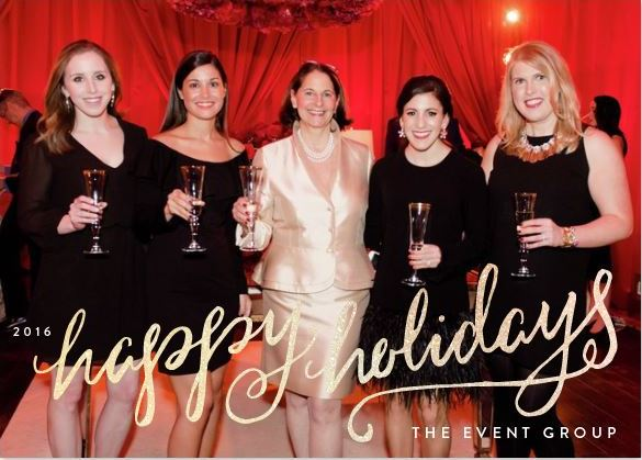 Happy Holidays from The Event Group!