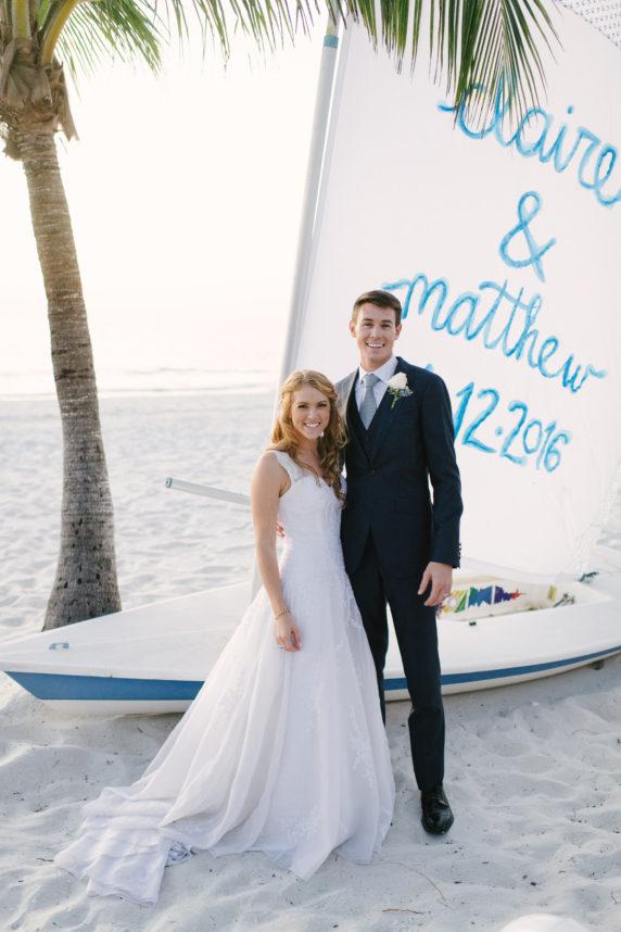 Elegant Seaside Wedding | The Event Group | Naples Florida | Port Royal Club | Sunglow Photography