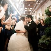 Gold and Green November Wedding | The Event Group | Pittsburgh | Eva Lin Photography | Wedding Planner | Omni William Penn Hotel